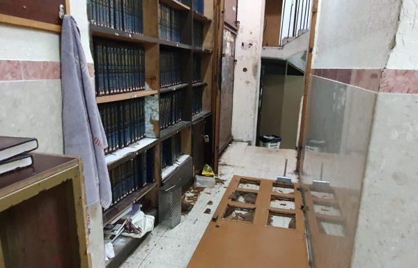 תלמידי ברלנד פרצו לבית הכנסת ביום כיפור (ערוץ 7)