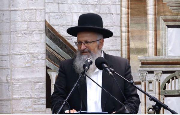 הרב שמואל אליהו בראיון נגד הדלקת ברלנד:  (רדיו גלי ישראל)