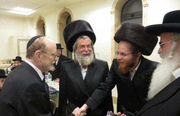 """עו""""ד הצמרת יעקב ויינרוט חגג עם הרב אליעזר חשין שליט""""א (גלריה)"""