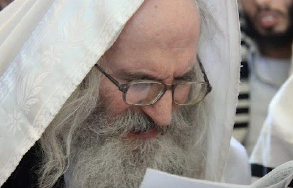 """הרב שמעון שפירא שליט""""א חתמתי על המכתב נגד אליעזר ברלנד"""