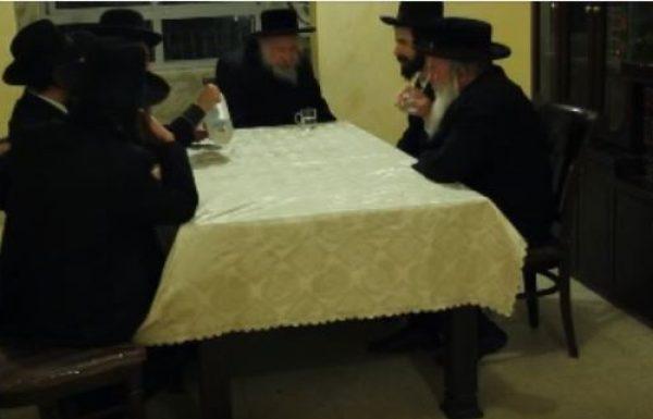 ביקור מרגש של הרב משה קרמר בבית הרב יהושע גרוס בברכפלד