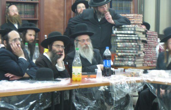דרשות הרבנים הרב אלימלך זילביגר הרב צבי צוקר והרב אליהו גודלבסקי בכנס הפעילים
