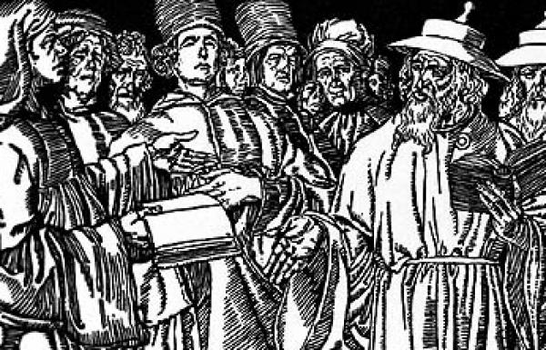 וויכוח בין אליעזר ברלנד לחכמי הדתות האיסלם והנצרות מה הגורם לקורונה