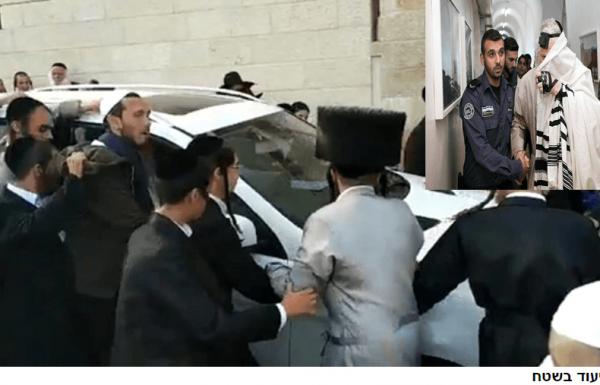 תלונה למשטרה: רכבו של ברלנד סיכן חיים