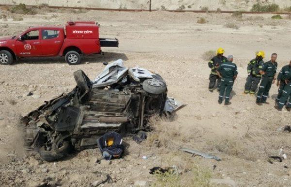 תאונה בשיירה של אליעזר ברלנד: חמשה נפגעים (כיכר השבת)