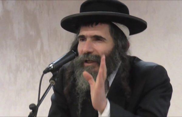 """הרב נתן שפירא- אשרי מי שיבוא וימחה נגד ברלנד במוצ""""ש בבני ברק"""