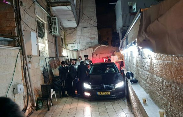 המשטרה החרימה את רכב המרצדס של ברלנד • שמעון רובינשטין נהגו עדיין עצור