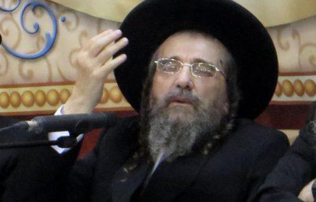 """ברלנד מכריז מלחמה מהכלא: """"תפגינו נגד הגאון הרב יעקב מאיר שכטר"""""""