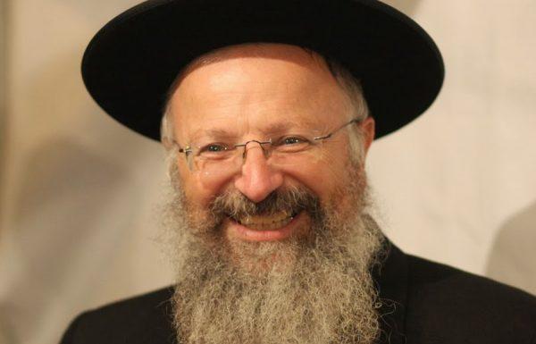 הרב שמואל אליהו למנדי וביתאן: צריך להוקיע את ברלנד. התורה משווה את העבירות שלו לרצח
